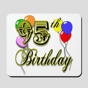 95th Birthday Mousepad