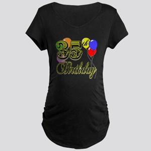 35th Birthday Maternity Dark T-Shirt