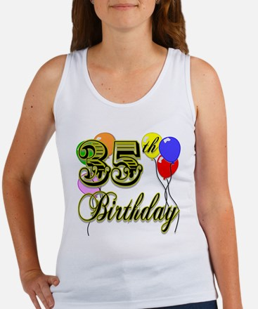 35th Birthday Women's Tank Top