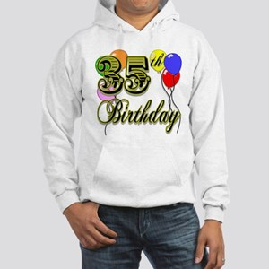 35th Birthday Hooded Sweatshirt