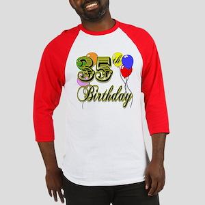 35th Birthday Baseball Jersey