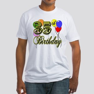 35th Birthday Fitted T-Shirt