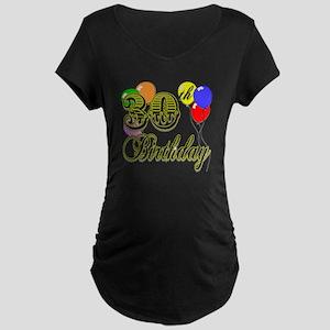 30th Birthday Maternity Dark T-Shirt