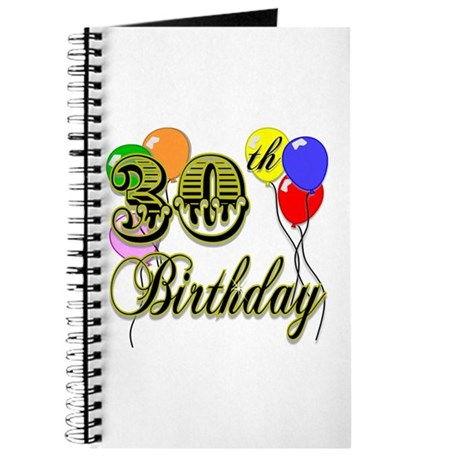 30th Birthday Journal