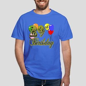 29th Birthday Dark T-Shirt