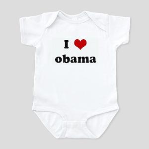 I Love obama Infant Bodysuit