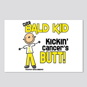 Bald 4 Childhood Cancer (SFT) Postcards (Package o