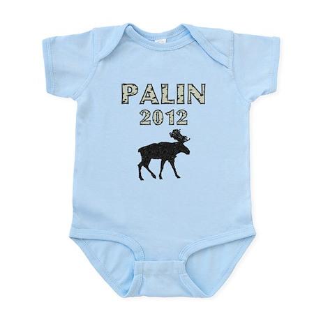 Sarah Palin 2012 Moose Infant Bodysuit