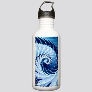 Barbed Blue Stainless Water Bottle 1.0L