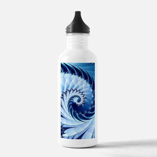 Barbed Blue Water Bottle