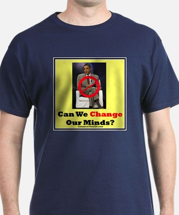 """""""Can We Change Our Minds?"""" T-Shirt"""