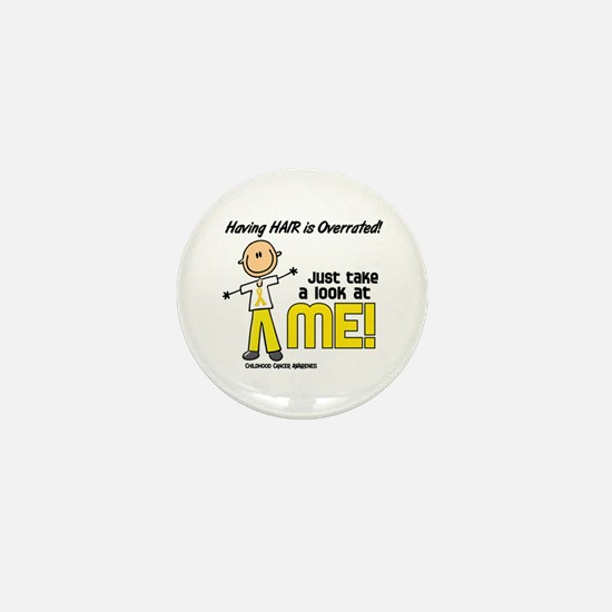 Bald 5 Childhood Cancer (SFT) Mini Button