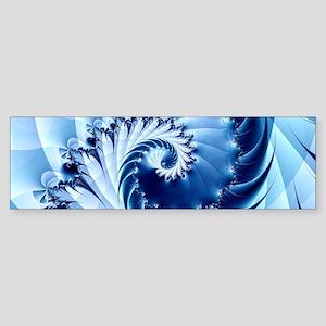 Barbed Blue Bumper Sticker
