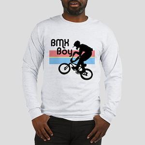 1980s BMX Boy Long Sleeve T-Shirt