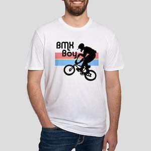 1980s BMX Boy Fitted T-Shirt