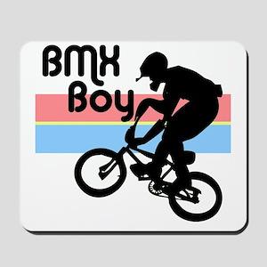1980s BMX Boy Mousepad