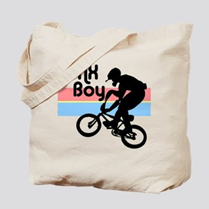 1980s BMX Boy Tote Bag