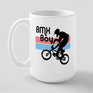 1980s BMX Boy Large Mug