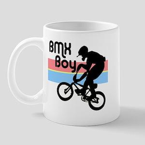 1980s BMX Boy Mug