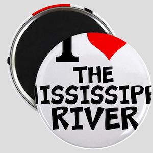 I Love The Mississippi River Magnets