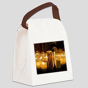 Virgen de Guadalupe Canvas Lunch Bag