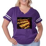 Velas/candles Women's Plus Size Football T-Shirt