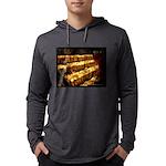Velas/candles Mens Hooded Shirt