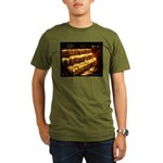 Velas/candles Organic Men's T-Shirt (dark)