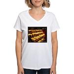 Velas/candles Women's V-Neck T-Shirt