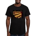 Velas/candles Men's Fitted T-Shirt (dark)