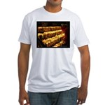Velas/candles Fitted T-Shirt
