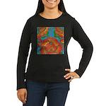 The Rosary Women's Long Sleeve Dark T-Shirt