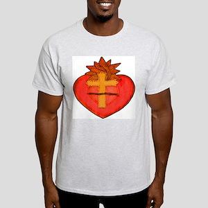 sacred heart whiteback2000 Light T-Shirt