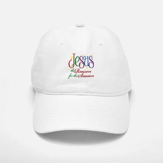 JESUS REASON FOR THE SEASON Baseball Baseball Cap