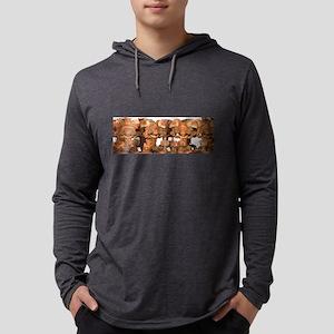 gods black tshirt Mens Hooded Shirt