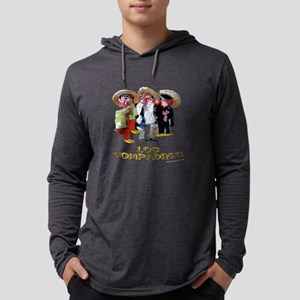 Compadres Mens Hooded Shirt