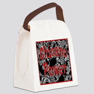 Chicano Power Canvas Lunch Bag