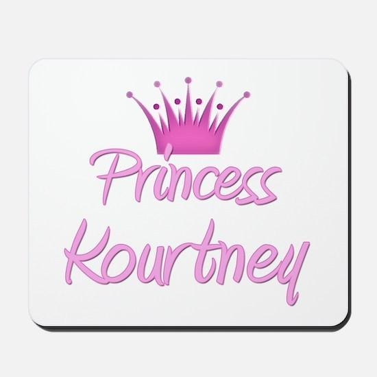 Princess Kourtney Mousepad