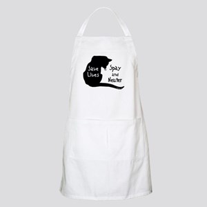 Save Lives (Cat) Spay & Neute BBQ Apron