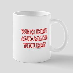 Who Died Mug