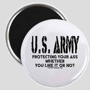 US ARMY PROTECTING YOUR ASS Magnet