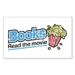 """Books: Read the Movie"" Sticker (Rectang"