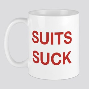 Suits Suck Mug