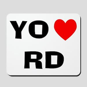 Yo Amo RD Mousepad