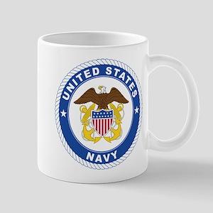 U.S. Navy Emblem Mug