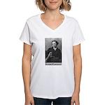 Lewis Carroll Women's V-Neck T-Shirt
