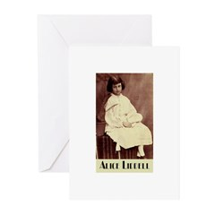 Alice Liddell Greeting Cards (Pk of 10)
