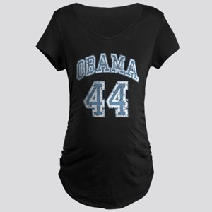 Obama 44th President bl Maternity Dark T-Shirt