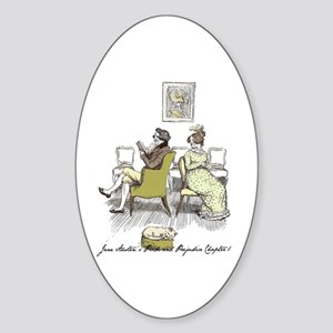 Hugh Thompson Ch 1a Oval Sticker