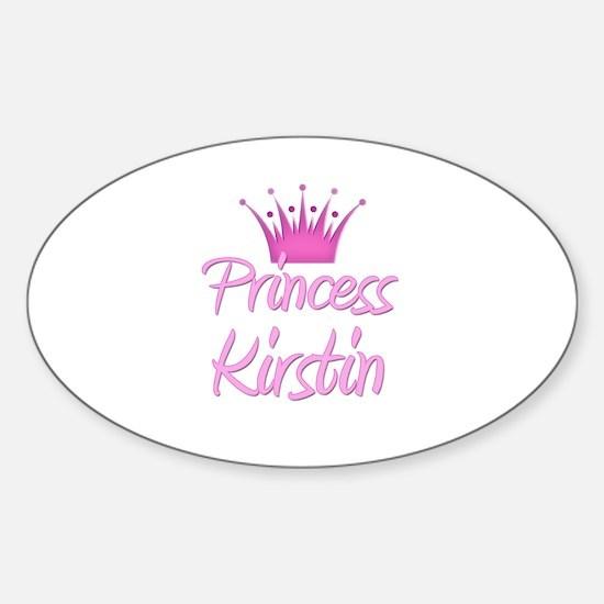 Princess Kirstin Oval Decal